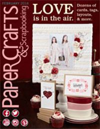 Feb 2014 issue of Paper Crafts & Scrapbooking
