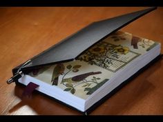 Book Binding - Hand Made Sketch Book - YouTube