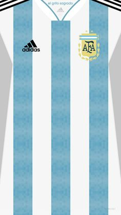 Argentina (World Cup) kit home Fifa Football, Football Kits, Sport Football, Football Jerseys, Mundial Football, Team Wallpaper, Football Wallpaper, World Cup Kits, Argentina Football