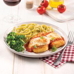 Tofu parmigiana express – 5 ingredients 15 minutes - New Pin Vegetarian Meal Prep, Vegetarian Recipes, Tofu Recipes, Healthy Recipes, Tofu Dishes, Easy Vegan Dinner, Sustainable Food, Mets, Food Waste