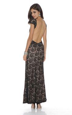840cb4d361 Lovers + Friends Backless Lace Long Dress ( 229)