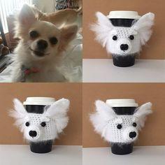 Custom Chihuahua cozy. #hookedbyangel