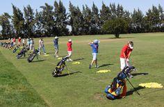 Practising driving at Isla Canela Golf club  #costadelaluz #overseashomes