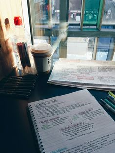 Goal this semester: study in different places (coffee shops, public libraries, cafes, different parts of the university)