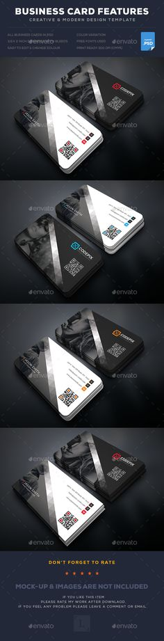 Photography Business Card Template PSD. Download here: https://graphicriver.net/item/photography-business-card/17602160?ref=ksioks