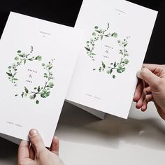 foliage - venamour #weddinginvitations #leafdesign #botanicaltheme