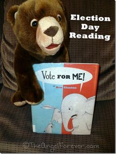 Vote for Me! - An election day book that is perfect for kids and politicians