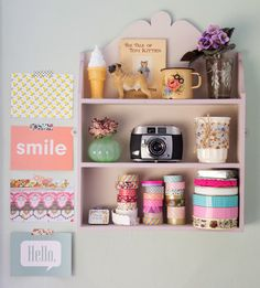 Loving this simple display from Patchwork Harmony House.