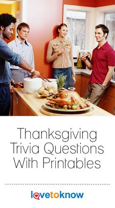 Thanksgiving Trivia Questions With Printables