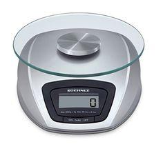 Soehnle 65840 Digitale Küchenwaage Siena silber.      Tragkraft 3000g     Teilung: 1g genau     Mit Abschaltautomatik und Zuwiegefunktion     Wird in frustfreier Verpackung verschickt     Lieferung inklusive Batterien.