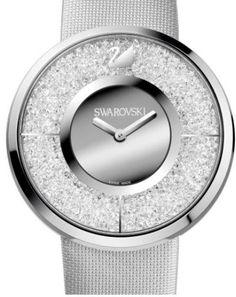 9d272b4c3c7 Swarovski Crystalline Silver Watch Lojas Online