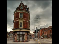 This building is in the Ropewalk area of Nottingham. Places Ive Been, Places To Go, Nottingham Uk, Shop Fronts, British Isles, Study Abroad, Great Britain, Big Ben, Around The Worlds