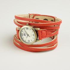 Red Multi-Strand Watch | World Market