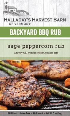Sage Peppercorn Rub