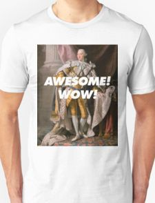 Alexander Hamilton Awesome! Wow! T-Shirt