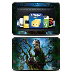Nightshade Fairy Design Protective Decal Skin Sticker for Amazon Kindle Fire HD 8.9 inch eBook Reader by MyGift. $19.99. Decorate and defend your Amazon Kindle Fire HD 8.9 inch eReader with this remarkable skin decal sticker. This protective skin decal's beautiful, art-quality design helps you add some of your own personal style to your Amazon Kindle Fire HD 8.9 inch. The durable combination of cast vinyl and clear laminate defends your Amazon Kindle Fire HD 8.9 inch device f...