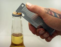 Old Fashioned Comb Bottle Opener   Cool Material