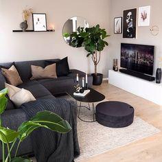 Magnificient Living Room Colors ideas that inspire your apartment decor Living Room Decor Cozy, Living Room Colors, Home Living Room, Apartment Living, Living Room Designs, Living Area, Decor Room, Budget Living Rooms, Cool Living Room Ideas