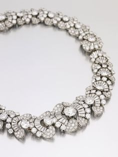 Bulgari Jewelry Owned by Gina Lollobrigida Highlights Sotheby's May Auction - JCK - 1954 diamond necklace. Would look perfect on my neck ; Jewelry Box, Jewelry Accessories, Fine Jewelry, Jewelry Necklaces, Jewelry Design, Bracelets, Owl Jewelry, Bulgari Jewelry, Diamond Jewelry