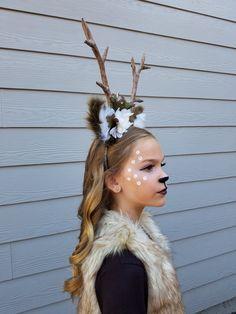 Hirsch Kostüm – New Ideas Deer costume deer costume Costume Bambi, Girl Deer Costume, Deer Costume Makeup, Deer Costume For Kids, Meme Costume, Pocahontas Costume, Cowgirl Costume, Mermaid Costumes, Deer Costume Diy