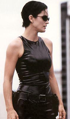 Trinity Matrix, Man In Black, The Matrix Movie, Carrie Anne Moss, Matrix Hair, Justine, Divas, Carry On, Actors & Actresses