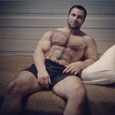 Bear and muscle world.