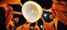 #Vesak Festival, a Buddhist festival, in the month of May celebrates the birth, death and the enlightenment of Siddharth Gautam as Buddha Shakyamuni.