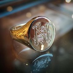 Royal Rings, Ring Bear, Signet Ring, Wax Seals, Instagram Shop, Gentleman, Jewelery, Oxford, Rings For Men