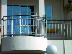 Stainless Steel Balcony Railing for my terrace in 2019 House front wall design, Balcony