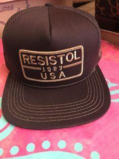 Hooey Resistol 1927 USA Brown Cap SnapBack 97a27820a3f