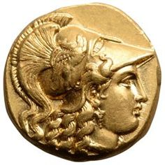 View this item and discover similar for sale at - A gold stater issued in the name of King Philip III of Macedon. Struck at the Babylon mint, 323 - 317 BC. Ancient Romans, Ancient Greek, Ancient History, Art History, Corinthian Helmet, Greek Antiquity, Silver Mask, Alexander The Great, Rare Coins