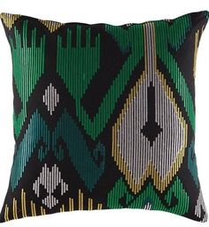 Cushion cover kas size 45cm x 45cm malakai green new  design bobin boutique A
