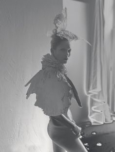 Kate Moss | MALCOLM EDWARDS / VAL GARLAND / JESS HALLETT - Love A/W 2012 — 'Waltz Darling'