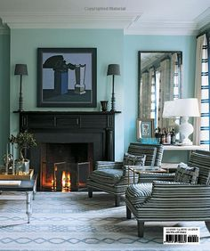 Colour luv and fireplace lust. Amazon.com: Steven Gambrel: Time and Place (9781419700682): Steven Gambrel: Books