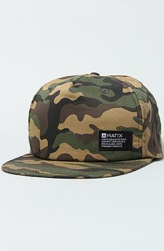 d53d83c82e6af Matix The Fireside Snapback Cap in Camo   Karmaloop.com - Global Concrete  Culture Camouflage