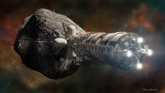 Versteeg also works with Deep Space Industries on concepts related to asteroids mining as ...