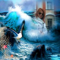 2zxda-3zllh-1 Sea Waves, Cali, Artwork, Movie Posters, Fictional Characters, Template, Places, Ocean Waves, Work Of Art