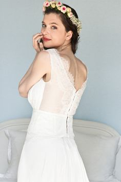Elsa Gary - Robes de mariée | Modèle: Chloé | Crédits: Elsa Gary | Donne-moi ta main - Blog mariage