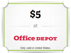 FREE $5 Office Depot and Toys R Us Gift Card From Wrapp For Your Friends on http://hunt4freebies.com