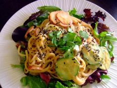 Isa Does It Dragon noodle salad - Vegansprout reviews