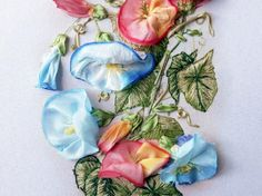 Silk Ribbon Embroidery Kit Bindweed