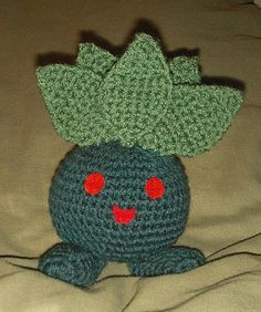 Pokemon: Oddish. From Raverly *easy*
