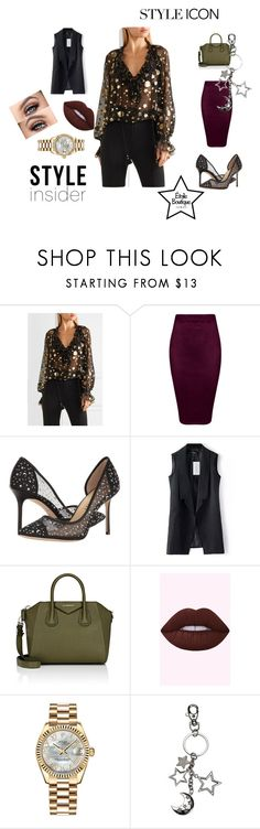 """""""Untitled #2"""" by razaibrahimovic-1 ❤ liked on Polyvore featuring Roberto Cavalli, Givenchy and Rolex"""