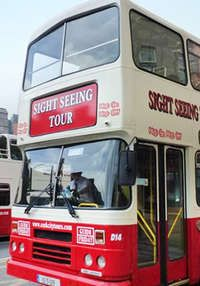Family Ticket for Two Adults and up to Four Kids for 'Hop On Hop Off' Bus Tour of Cork €17