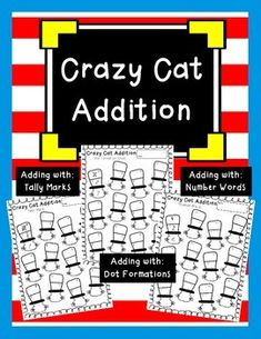 Crazy Cat Addition (Dr. Seuss Printables) freee K