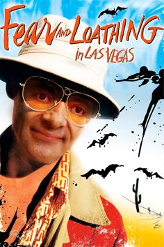Johnny Depp & Benicio Del Toro & Terry Gilliam-Fear and Loathing in Las Vegas Cult Movies, Top Movies, Movies And Tv Shows, Michael Jeter, Non Plus Ultra, Terry Gilliam, Johnny Depp Movies, Fear And Loathing, The Lone Ranger