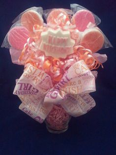 Happy Birthday cookie bouquet.  #louisessweets