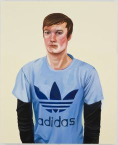 Nicole Eisenman  Taylor  2009  Oil on canvas  48 x 39 inches