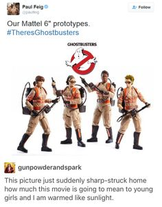I remember when I was younger and wanted to be a ghost buster, now I finally have my wish ♡♡♡♡♡