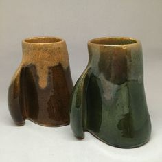 Pair of Wilfred Roberge Canada Art Pottery Mugs Mid Century Modern Quebec Artist | eBay